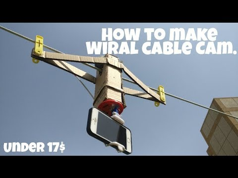 How to make a wiral  cable cam under  1100 Rupees - Jugad Machine