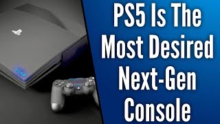 PS5 Wins Poll For Most Anticipated Next-Gen Console | Xbox and PlayStation Will Not Combine