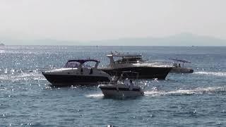 Minori on the Amalfi coast Italy 2018.