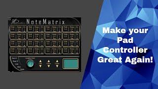 NoteMatrix 1 - Drum Mapper for Kontakt