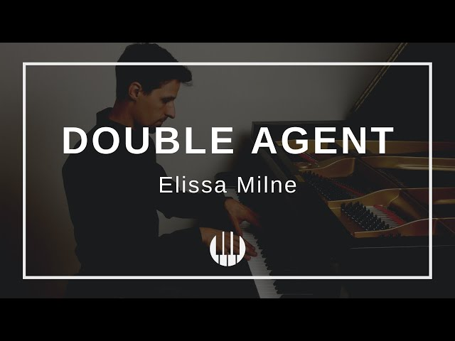 Double Agent by Elissa Milne