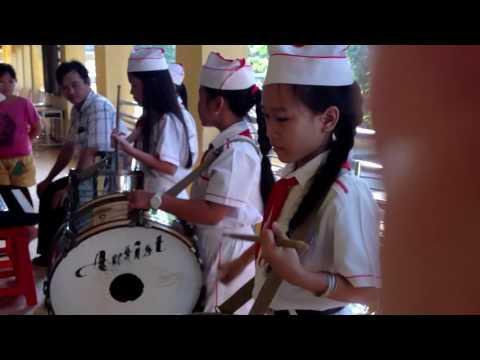 Đội trống trường Tiểu học thị trấn Cái Tàu Hạ1