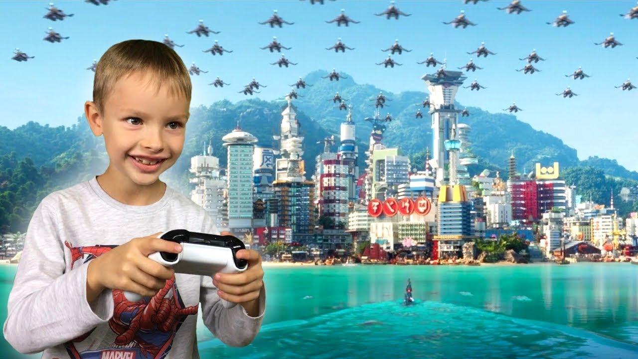 Dzień Dobry Ninjago 1 Lego Ninjago Movie Gra Wideo Xbox One
