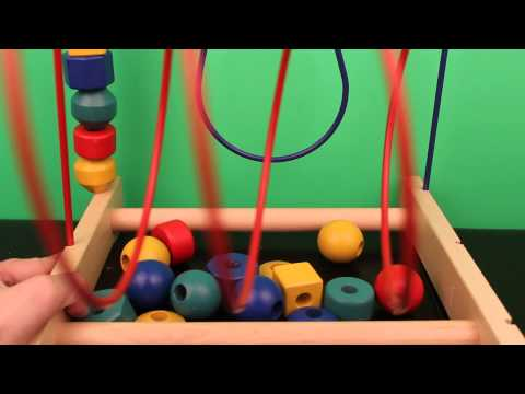 Let's build an Ikea Bead Coaster! Fun, good entertainment for babies, kids and adults.
