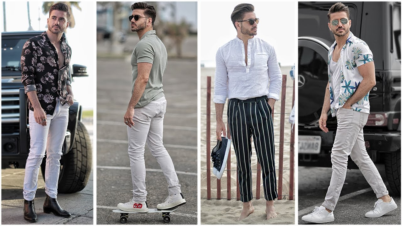 3 EASY SUMMER OUTFITS FOR MEN 2018