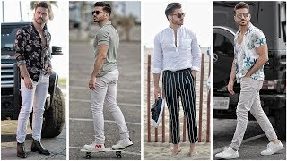 4 EASY SUMMER OUTFITS FOR MEN 2018 | MEN