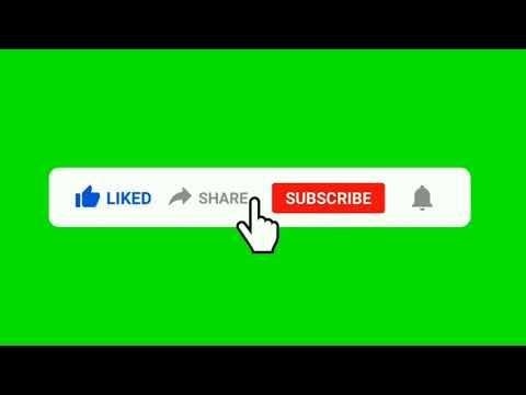 Green screen like share subscribe  2021