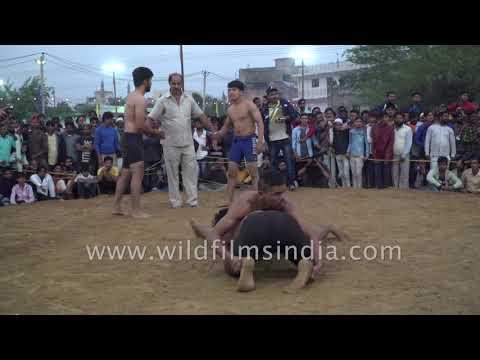 Kushti : wrestling in rural India