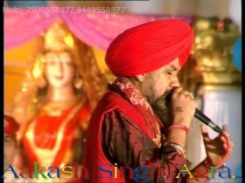 Lal Lal Chunri Sitaro Wali ~ Lakhbir Singh Lakha Live Lal Mata Mandir At Amritsar...