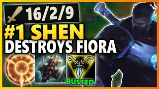 UHH... RIOT?! SHEN CAN ONESHOT ANYONE WITH THIS BUILD! Season 10 Shen Gameplay | League of Legends