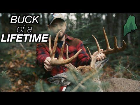 BIG BUCK DOWN! | Maine Deer Hunting | Ep. 9