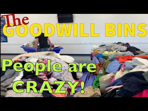 The GOODWILL Bins Are CRAZY!! FOUND Burberry, Patagonia, Vintage Hats, & MORE