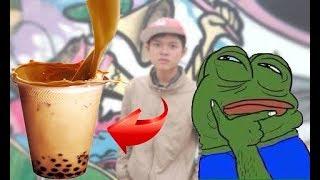 Vũ Liz - 100k Làm Và Uống LY TRÀ SỮA SIÊU SANG CHẢNH !!