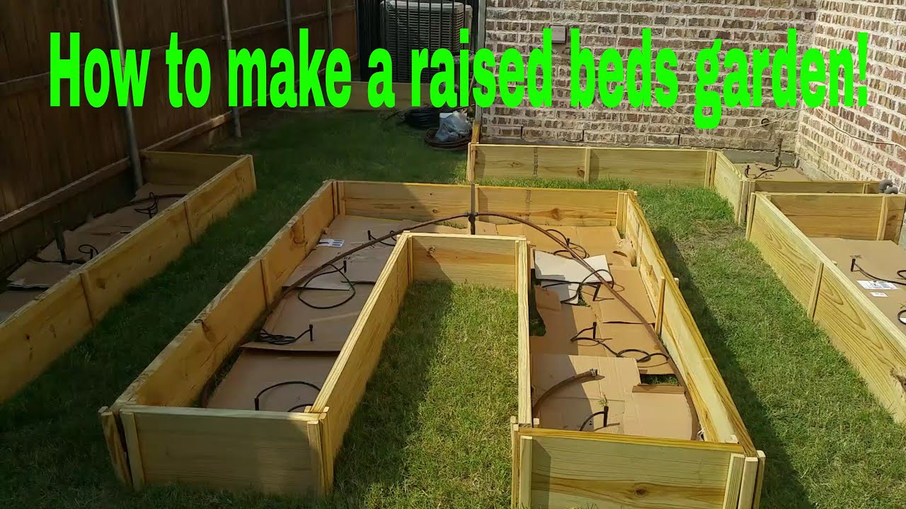 Attractive How To Make A Raised Bed Garden! Rob Backyard Gardenerr