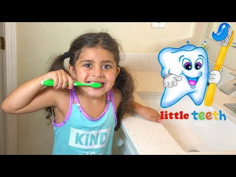 BRUSH YOUR TEETH!! Nursery Rhymes Song for Kids