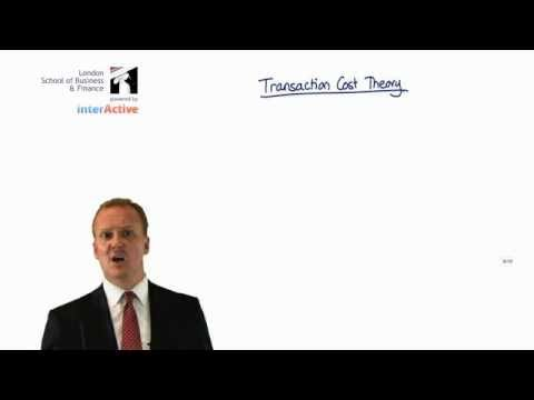 LSBF ACCA P1: Transaction Cost Theory with Paul Merison