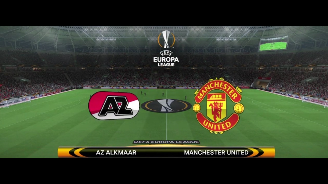 Pes 2017 Ps4 Europa League Manchester United V Az