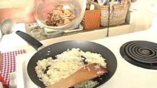 Recipe For Panfried Glutinous Rice With Shiitake Mushrooms And Chicken [copykat Restaurant Recipes]