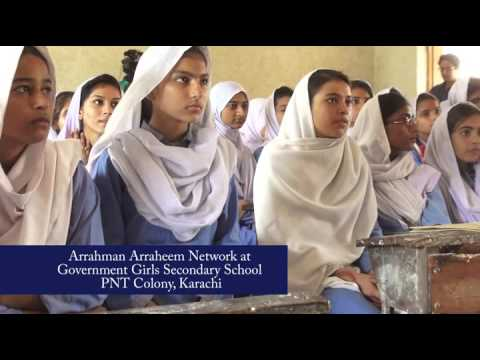 Arrahman Arraheem at Govt. Girls Secondary School Karachi