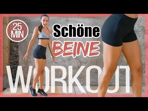 Schlanke Beine - Workout Gegen Beinfett - Oberschenkel Straffen - Schönen Po Bekommen - HIIT