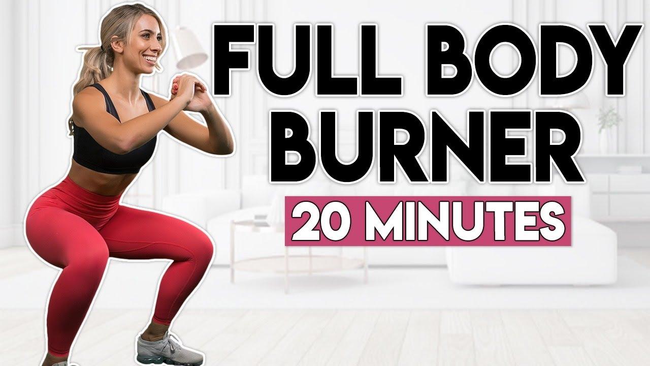 SWEATY FULL BODY BURNER | 20 minute Home Workout