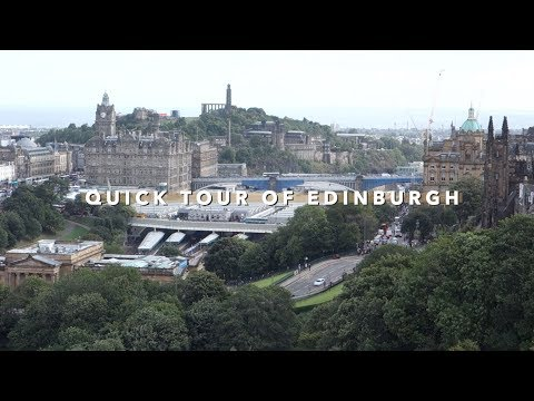 Edinburgh Tips: Castle, Tours and J.K. Rowling Cafes 🏰⚡ | Vlogust Day 19