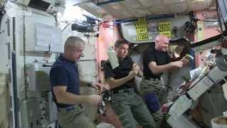 Crew life: an astronaut