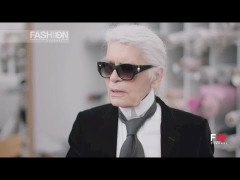 CHANEL Karl Lagerfeld's Interview Fall 2016 Haute Couture Paris by Fashion Channel