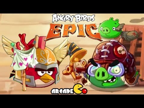 Angry Birds Epic: BAD Giant Ghost Piggies BOSS Cave 3 ...