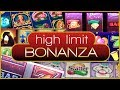 ⌚ 1 HOUR - HIGH LIMIT Bonanza 💰 ✦ $9-$60/Spin #WINNING ✦ Slot Machine Pokies in Las Vegas