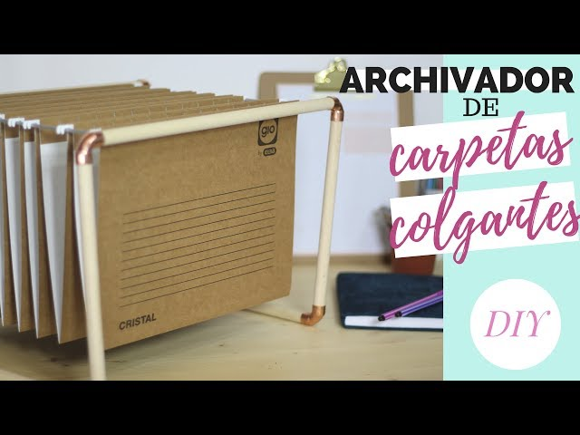 Archivador de carpetas colgantes | DIY
