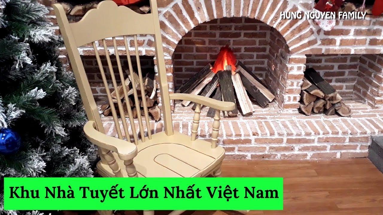 Thăm Quan Khu Nhà Tuyết Lớn Nhất Việt Nam  #VietnamTravel – #Tourism   Hung Nguyen Family