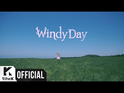 "Oh My Girl revela o MV ""Windy Day""!"