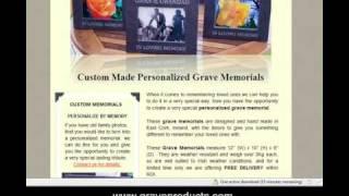 graveproducts.com - Irish Personalized Grave Memorials