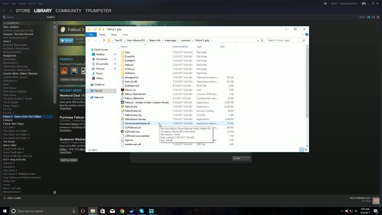 How To Fix Fallout 3 Crashing On Windows 10 Youtube