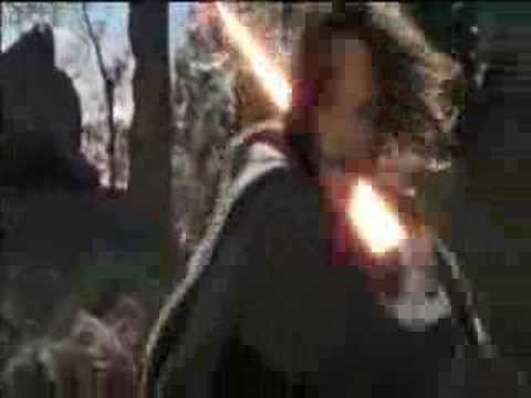 aragorn with lightsaber lord