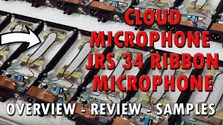 Cloud Microphones JRS 34 Ribbon Microphone Review -  Pure Wave Audio