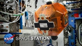 Space Station Live: Kid Engineers Program Space Satellites