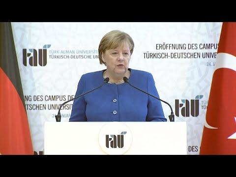 AFP News Agency: Merkel and Erdogan inaugurate Turkish-German university in Istanbul   AFP