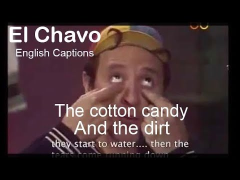 El Chavo Del 8  (English Captions)-The Cotton Candy And The Dirt - Part One-