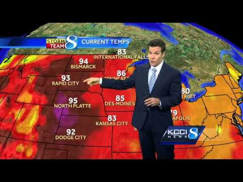 KCCI 8 News weather forecast