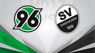 Hannover 96 vs. SV Sandhausen [HINRUNDEN - ABSCHLUSS] #Stadion V-Log
