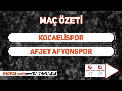 28.02.2021 | Kocaelispor 1-1 Afjet Afyonspor | MisliTV