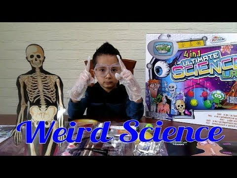 Weird Science /ultimate science Lab /4in1 Ultimate science lab REVIEW