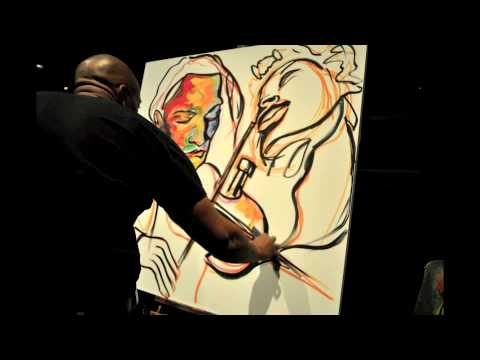 Atlanta Artist Live Event Painting Art Auction Performance Art