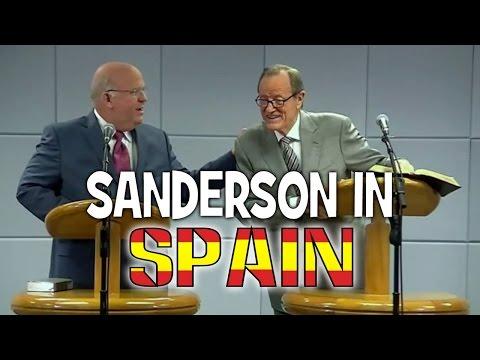 Sanderson in Spain (Spanish branch visit - April 2, 2016) - Cedars' vlog no. 113