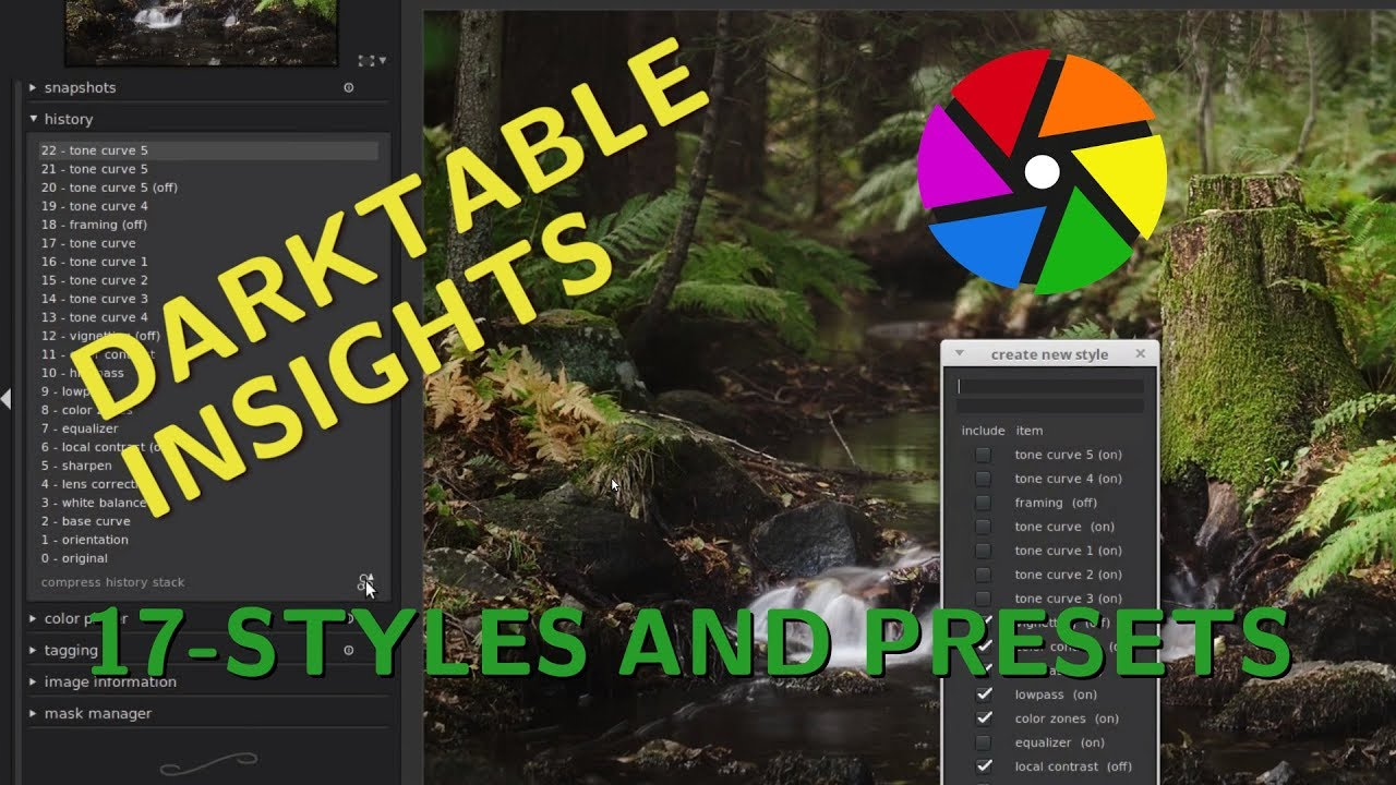 Presets and styles in Darktable – Clicksnap