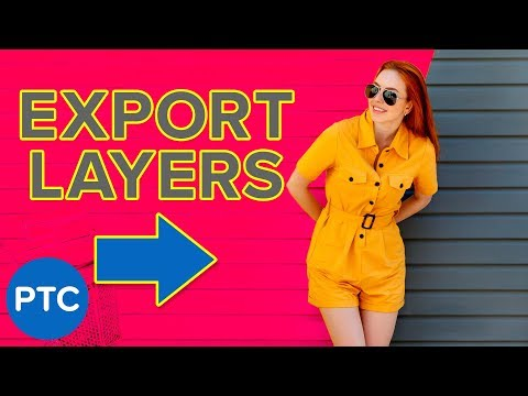 How To Save Layers As INDIVIDUAL FILES In Photoshop - Three Export Methods Explained