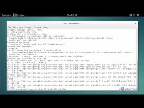 How to Install PostgreSQL 9.6 on Debian 8