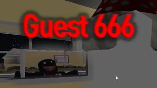 로블록스의 히로빈 Guest 666 괴담과 공포, 루머 정리... 소름